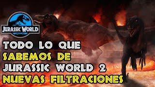 Download ¡TODO LO QUE SABEMOS DE JURASSIC WORLD 2 Y NUEVAS IMÁGENES OFICIALES! - JURASSIC WORLD 2 Video