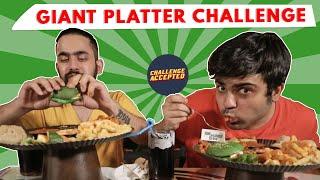 Download Giant Vegetarian Platter Eating Challenge| Challenge Accepted#20 Video