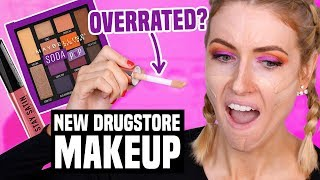 Download TESTING NEW DRUGSTORE MAKEUP... What Worked & What DIDN'T Video