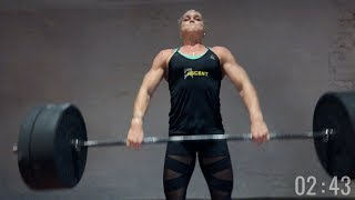 Download Katrin Davidsdottir: Clean Workout || CompTrain Video