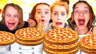 Download PIZZA EATING COMPETITION! Which NORRIS NUT can eat the most Pizza??? Video