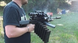 Download RANGE TEST: THE ULTIMATE AR-15 MALL NINJA TACTICAL ZOMBIE DESTROYER! Video