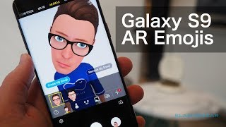 Download Samsung AR Emoji demo on the Galaxy S9 Video