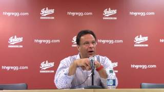 Download Tom Crean postgame: Mississippi Valley State: Nov. 27, 2016 Video