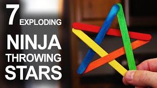 Download 7 Ways To Make Exploding Ninja Stars Video