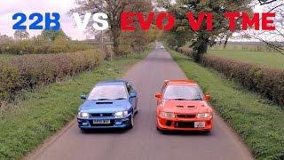 Download Mitsubishi Evo TME vs Subaru Impreza 22B - Round 1 Video