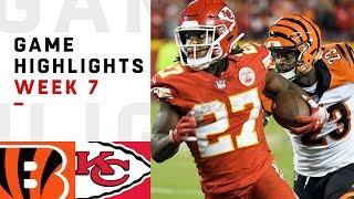 Download Bengals vs. Chiefs Week 7 Highlights | NFL 2018 Video