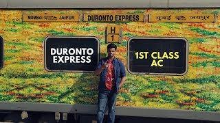 Download Duronto Express 1st class AC   Mumbai to Jaipur Video