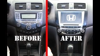 Download The best car Stereo Radio Replacement upgrade for 2003-2007 Honda Accord 7- Seicane Radio Review Video