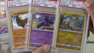 Download PSA Graded Pokemon Cards - Guardians Rising Staff Promos! Video