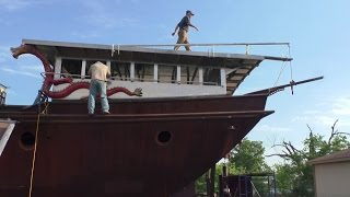 Download Mizzen Mast Step, Davits, Rudder Chain and Cable Video