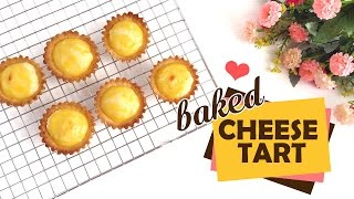 Download Easy Baked Cheese Tart Video