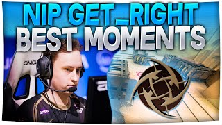 Download CS:GO - Best of GeT RiGhT (Insane Pro Clutches, Aces, Spraydowns & More!) Video