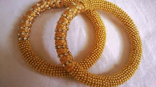 Download How to make silk thread bangles latest design Video