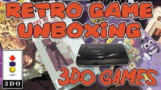 Download UNBOXING! Tons of 3DO games | Retro Game Unboxing Video