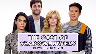 Download Shadowhunters Cast Reveals Who Might Secretly be a Shadowhunter and More | Superlatives Video