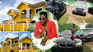 Download SHATTA WALE Shows WIZKID Fans His 1Million Dollar MANSION And Fleet Of Cars Video