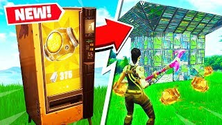 Download FORTNITE *NEW* PORT A FORTRESS GAMEPLAY! (RAREST ITEM in BATTLE ROYALE!) Video