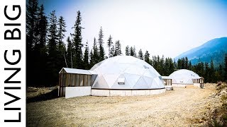 Download Off-Grid Tiny House Paradise With Geodesic Dome Greenhouse Video