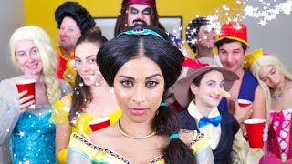 Download Disney Character House Party | Lilly Singh Video