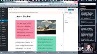 Download Playing with Gutenberg on WordPress 5.0 Live - WPwatercooler Video