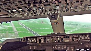 Download Boeing 747-400 Cockpit - Breakoff Landing Amsterdam Schiphol Video