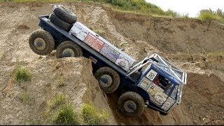 Download Extrem off road 8X8 TRUCK TATRA - Truck trial Video
