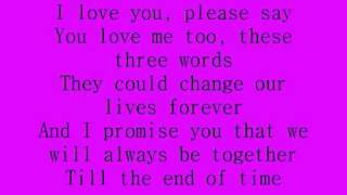 Download Celine Dion - I love you lyrics Video