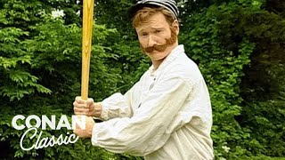 Download Conan Plays Old Timey Baseball - ″Late Night With Conan O'Brien″ Video