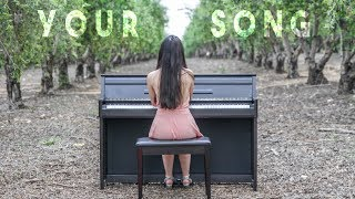 Download Elton John - Your Song (Piano Cover) by Yuval Salomon Video