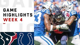 Download Texans vs. Colts Week 4 Highlights | NFL 2018 Video