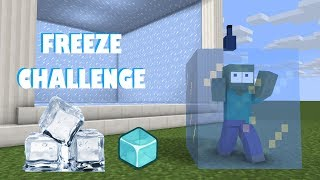 Download Monster School : FREEZE CHALLENGE - Minecraft Animation Video