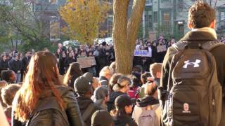 Download Brown University #OurCampus walkout Video