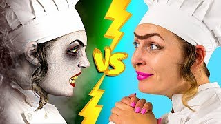 Download Halloween Food vs Real Food Challenge! Video