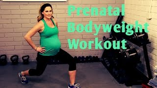 Download 25 Minute Prenatal Bodyweight Workout-No equipment workout for 1st, 2nd and 3rd Trimesters Video