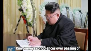 Download North Korea's top leader conveys condolences over passing of Fidel Castro Video