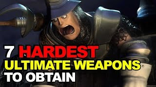 Download Top 7 Hardest Ultimate Weapons To Obtain (Final Fantasy Edition) Video