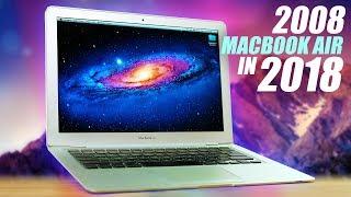 Download Using An Original 2008 Macbook Air in 2018! Video