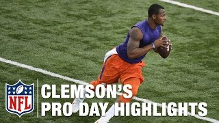 Download Clemson Pro Day: Deshaun Watson and Mike Williams Highlights & Mike Mayock's Analysis | NFL Video