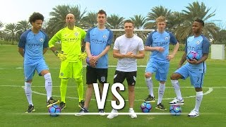 Download THE SHOOT-OUT Ft. De Bruyne, Sterling, Sané & Caballero | Chris VS Simon Video