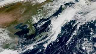 Download Korea and Japan from Space - 9/13/2015 Video