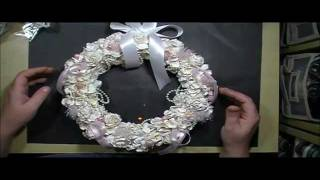 Download Shabby Chic Christmas Wreath with Cynthialoowho♥ Video