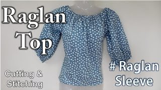 Download Raglan Short Top | Raglan Sleeve Video
