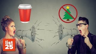Download Ridiculous Christmas Controversies That Actually Happened #LISTMAS Video