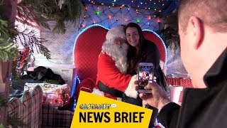 Download Santa stops by Castanet Video