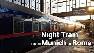 Download From Munich to Rome by Night Train (ÖBB nightjet) Video