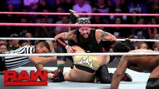 Download Team Lucha Lucha vs. The Zo Train - 10-Man Tag Team Match: Raw, Oct. 23, 2017 Video