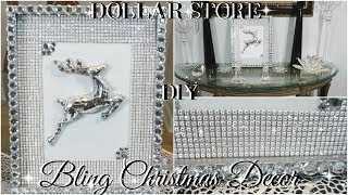 Download DIY DOLLAR STORE GLAM CHRISTMAS DECOR | DIY HOME DECOR | DIY WALL HANGING DECOR Video