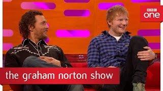 Download How Matthew McConaughey's Dad won a motorbike - The Graham Norton Show 2017: Episode 14 - BBC One Video