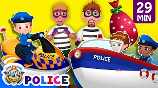 Download ChuChu TV Police Chase Thief in Police Boat & Save Huge Surprise Egg Toys Gifts from Creepy Ghosts Video